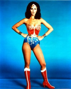 Wonder Woman has this confidence thing down.